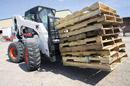 Bobcat nuoma su krautuvu: statybos ar žemės ūkio pakrovimas ir iškrovimas