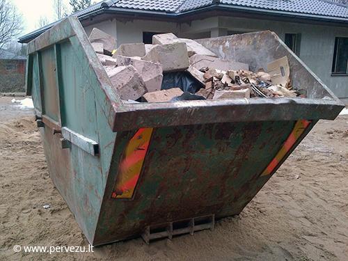 Konteinerių nuoma Vilniuje, Šiukšlių konteinerių nuoma Vilniuje